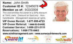 Owner Card
